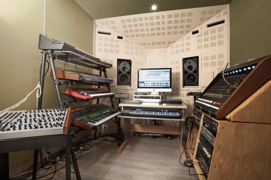Recording Studio Andromeda Turin Italy
