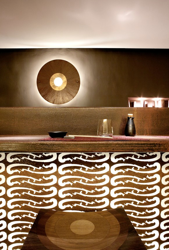Japanese restaurant KIKI in Turin designed by Daniela Boni